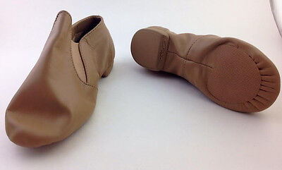 Capezio Caramel Jazz CG05C Ankle Boot Dance Shoes,Child 11.5 Nib Orig $56.99