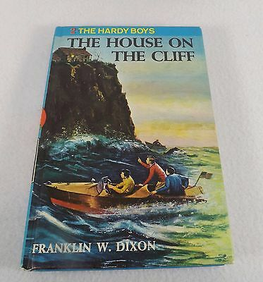 Vintage 1959 The House On The Cliff Hardy Boys Hb Book Franklin W. Dixon