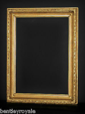 "A Mid C19th Picture Frame With Original Gilding. Sight Size 26"" x 18""."