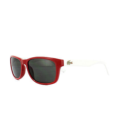 Lacoste Kids Sunglasses L3601S 615 Red White Grey