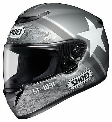 New Shoei Qwest Resolute Matte Grey Motorcycle Helmet Size Large Free Shipping