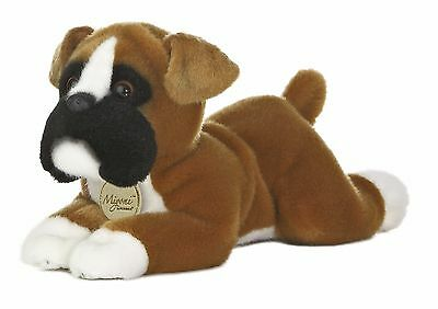 New AURORA MIYONI Stuffed Plush Toy BOXER Animal PUPPY DOG Soft Cuddle Cute