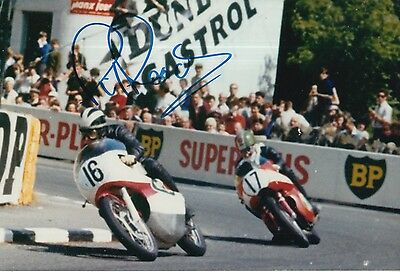 Phil Read Hand Signed Isle of Man TT 12x8 Photo MOTOGP.