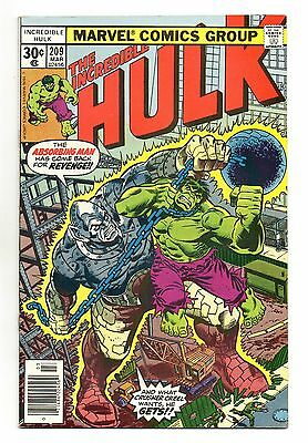 Incredible Hulk Vol 1 No 209 Mar 1977 (VFN+) Marvel, Bronze Age (1970 - 1979)
