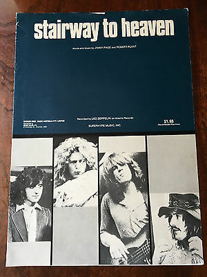 LED ZEPPELIN - Stairway To Heaven. Australian Sheet Music