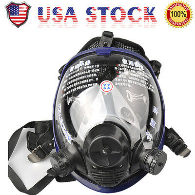 For 3M 6800 Full Face Mask Facepiece Respirator Painting Spraying Gas Anti-dust