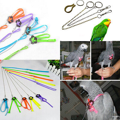 Anklet Soft Pigeon Leash Harness Rope Bird Adjustable Chain Parrot Anti-bite