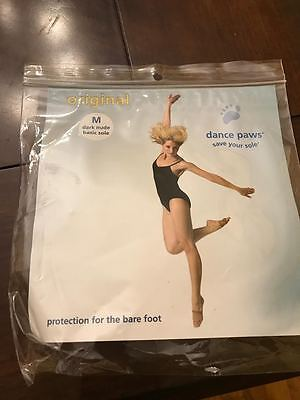 Dance Paws Original Basic Sole, Adult M, Dark Nude, New in Package