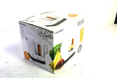 Baby Brezza Food Maker Glass Large 4 Cup Capacity White 1 Step Process BRZ00131S
