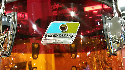 Ludwig 3pc Tequila Sunrise Vistalite Drum Kit 13-16-22