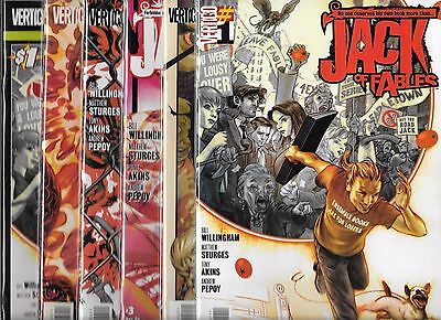 Jack Of Fables Lot Of 21 - #1 #2 #3 #4 #5 #6 #7 #8 #9 #10 #11 #12 #13-#20 (Nm-)