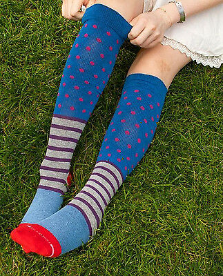 NWT - Womens Colorful Compression Socks for Perfect for Tired Legs
