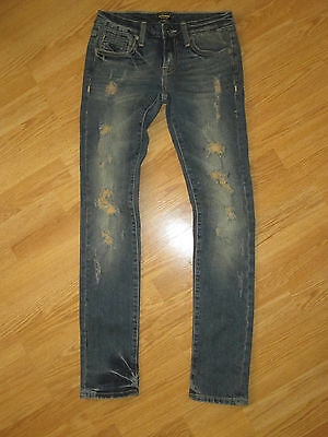 "ANONAME Womens Size 25  Jeans Joelle Boot Cut 31"" Inseam Distressed"