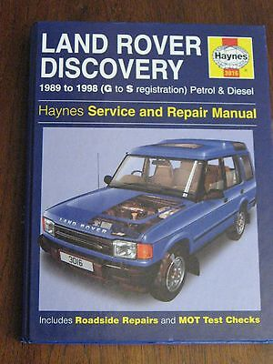"""LAND-ROVER DISCOVERY Service & Repair workshop manual over 1"""" thick illustrated"""