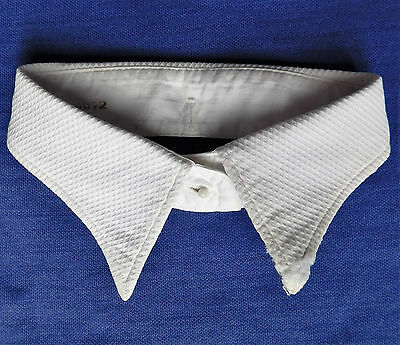 Vintage Marcella shirt collar size 15 1950s 1960s Spearpoint detachable DARNED