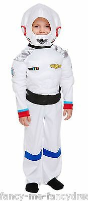 Boys Spaceman Astronaut Space Boy Book Day Fancy Dress Costume Outfit 3 years
