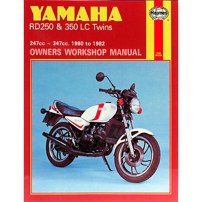 Yamaha RD250LC RD350LC Twins 1980-82 Haynes Workshop Manual
