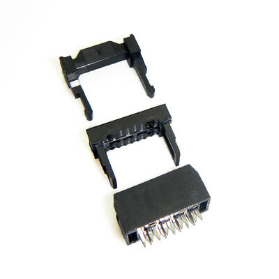2.54mm IDC Socket KIT JTAG Socket ISP Boxed Header Flat Connector FC-6P ~ FC-40P