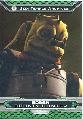 #37 Star Wars Clone Wars Widevision Silver Stamped Parallel Base Card 500