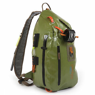 Fishpond Thunderhead Sling Pack Green Fly Fishing Bag Waterproof Submersible