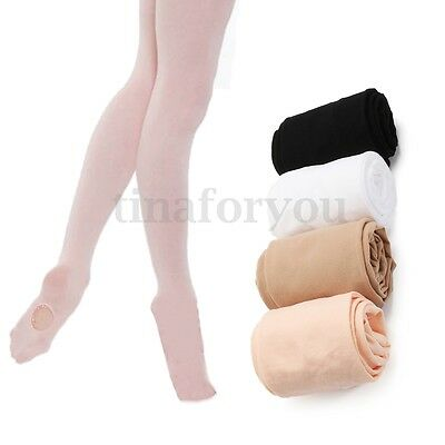 6b5937c713615 Convertible Tights Dance Stocking Socks Ballet Pantyhose for Kids &  Adults-S M L