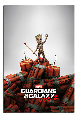 Guardians Of The Galaxy Vol 2 Groot Dynamite Poster New - Maxi Size 36 x 24 Inch