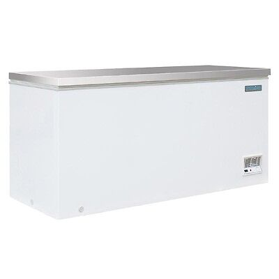 Polar Chest Freezer with Stainless Steel Lid 516 Ltr Litre Commercial  - CM531