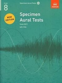 SPECIMEN AURAL TESTS Revised 8 + CDs ABRSM*