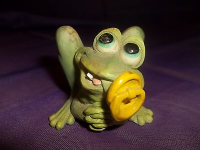 1994 Sprogz - Young Frog With Binky Pacifier