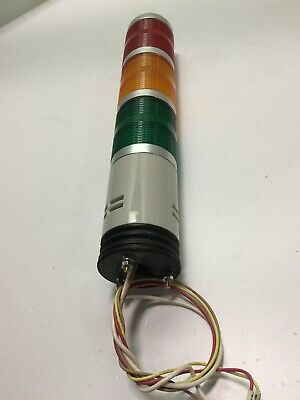 Idec LT1A  3 Tier Stack/Status Light Tower 24VAC/DC Red Orange Green Indication