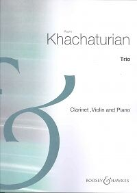 Khachaturian Trio For Vn/cl/pf