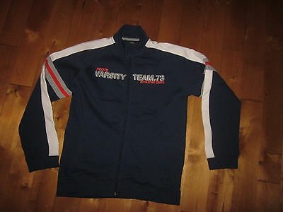 """ROOTS KIDS Boy's XL  12 14 YRS  chest= 38"""" Zippered TRACK suit JACKET Spring"""