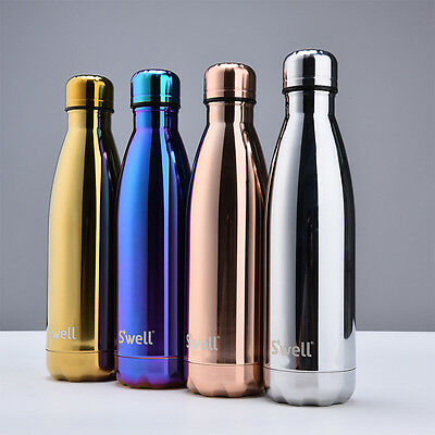 Water Bottles Flask Thermos Stainless Steel Double Wall Vacuum Insulated 500ML