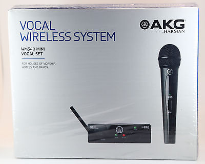 AKG WMS40 Mini Vocal Set US45A, Drahtloses Mikrofon - Neu