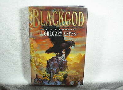 GREGORY KEYES (SIGNED 3X) THE BLACKGOD 1st Edition Hardcover
