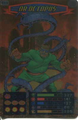 Spiderman Heroes And Villains Card #028 Dr. Octopus