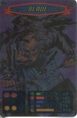 Spiderman Heroes And Villains Card #041 Blade Foil