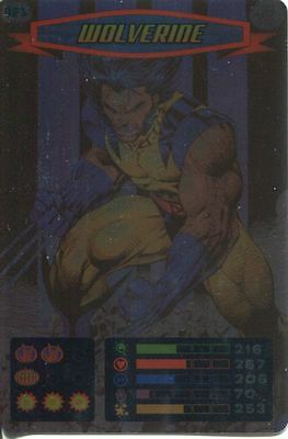 Spiderman Heroes And Villains Card #021 Wolverine Foil