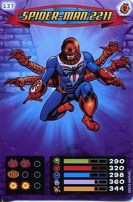 Spiderman Heroes And Villains Card #137 Spider-Man 2211