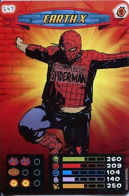 Spiderman Heroes And Villains Card #147 Earth X