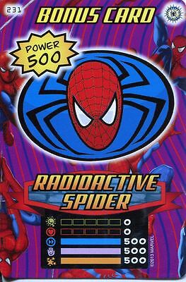 Spiderman Heroes And Villains Card #231 Radioactive Spider