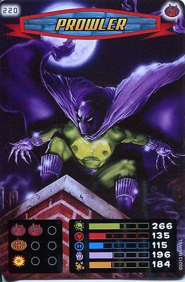 Spiderman Heroes And Villains Card #220 Prowler