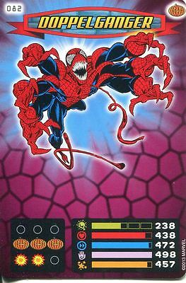 Spiderman Heroes And Villains Card #082 Doppelganger