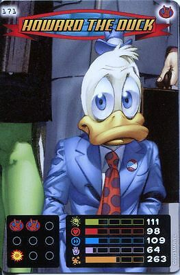 Spiderman Heroes And Villains Card #171 Howard The Duck