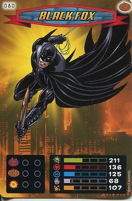 Spiderman Heroes And Villains Card #080 Black Fox