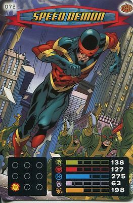 Spiderman Heroes And Villains Card #072 Speed Demon