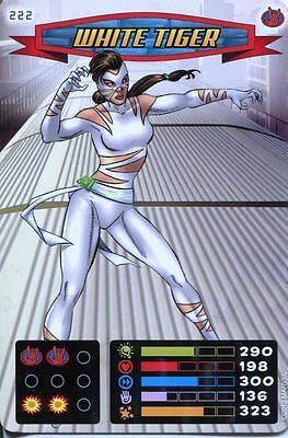Spiderman Heroes And Villains Card #222 White Tiger