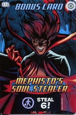Spiderman Heroes And Villains Card #256 Mephistos Soul Stealer