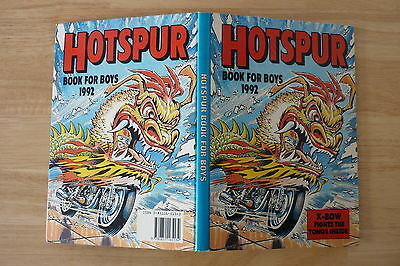 Hotspur Annual 1992 UNCLIPPED.Like Victor