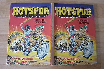 Hotspur Annual 1981 UNCLIPPED.Like Victor